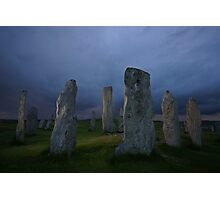 The Standing Stones of Callanish Photographic Print