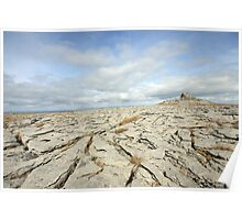 The Burren view Poster