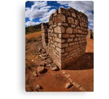 lillimilura police station ruins - kimberley, western australia  Canvas Print