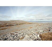 Beautiful Burren Landscape Photographic Print