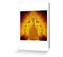 Buddha & Mucalinda Greeting Card