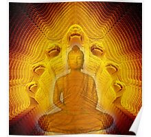 Buddha & Mucalinda Poster