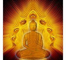 Buddha & Mucalinda Photographic Print