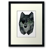 Diamond Dog Framed Print