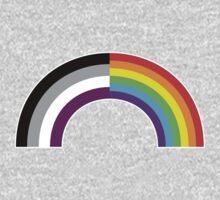 Homo-asexual Rainbow T-Shirt