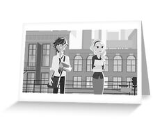 Paperman Hiccstrid Greeting Card