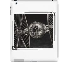 TIE-FIGHTER framed iPad Case/Skin