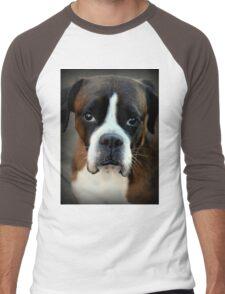 Remembering Arwen - Boxer Dogs Series Men's Baseball ¾ T-Shirt