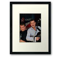 Aussie Country Music's Adam Harvey Framed Print