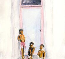 3 boys - 1 by J-C Saint-Pô
