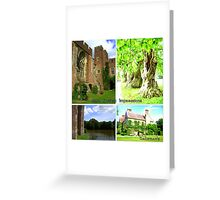 """East Sussex Impressions featured in """"All castles around the world"""" Greeting Card"""
