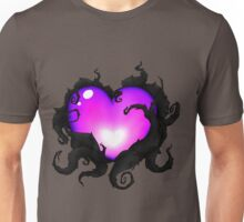 Mystery Heart - Purple Unisex T-Shirt