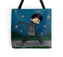 Blustery Boy Tote Bag