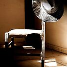 Dark Corners and Dust, A Chair left to Must by Berns