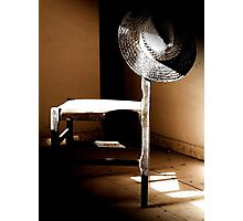 Dark Corners and Dust, A Chair left to Must Photographic Print
