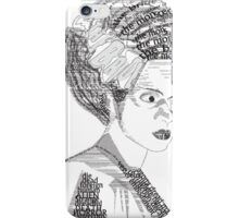 The Bride iPhone Case/Skin