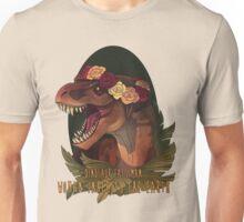 Dinosaur Eats Man Unisex T-Shirt
