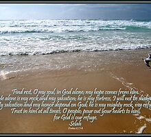 ~ Psalm 62:5~8 ~ by Donna Keevers Driver