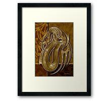 TANGAROA - God of the Sea Framed Print