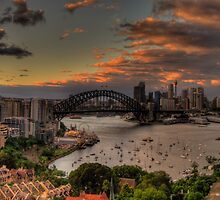 Good Morning World (Panoramic)- Moods of A City - The HDR Experience by Philip Johnson