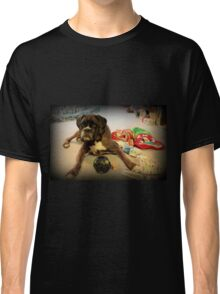 Is That Another Christmas Present For Me ?  - Boxer Dogs Series Classic T-Shirt
