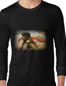 Is That Another Christmas Present For Me ?  - Boxer Dogs Series Long Sleeve T-Shirt