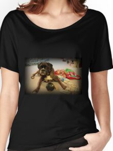 Is That Another Christmas Present For Me ?  - Boxer Dogs Series Women's Relaxed Fit T-Shirt