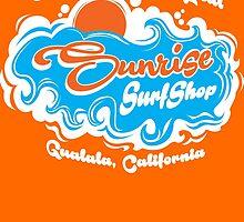 Sunrise Surf Shop, Gualala California by PistolPete315
