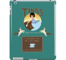 Tinaspresso iPad Case/Skin