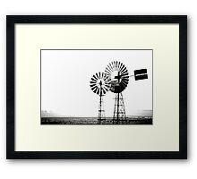 Windmills Framed Print