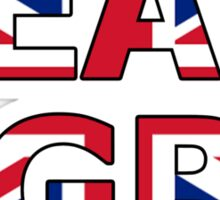 Patriotic Team Great Britain (GB) Sticker