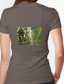 Dragonfly Form Hoodie Womens Fitted T-Shirt
