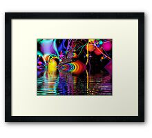 Its My Party Framed Print