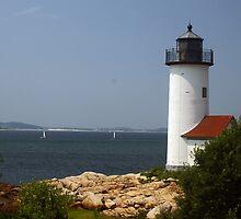 Annisquam Lighthouse by Kenric A. Prescott
