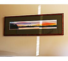 refracted light  Photographic Print