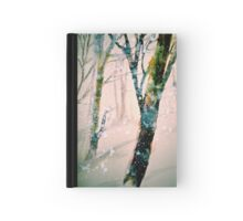 A Pale Winter Evening.... Hardcover Journal