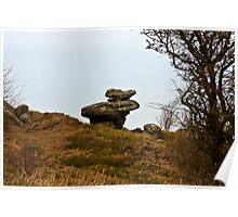 Brimham Rocks #1 -Nidderdale. Poster