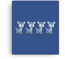 LOOK! It's Rudolph! Canvas Print