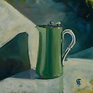 Little Green Jug by CatSalter