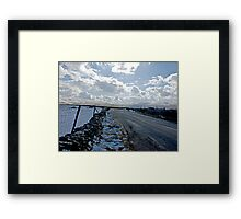 The Road Into The Dales Framed Print