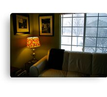 My Living Space Canvas Print