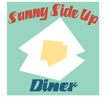 Sunny Side Up Diner Photographic Print