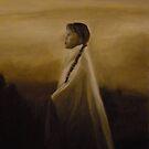 Navajo Girl by Pamela Scarboro