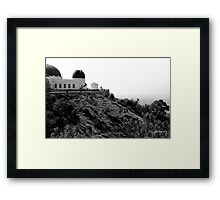 GRIFFITH OBSERVATORY - LOS ANGELES Framed Print