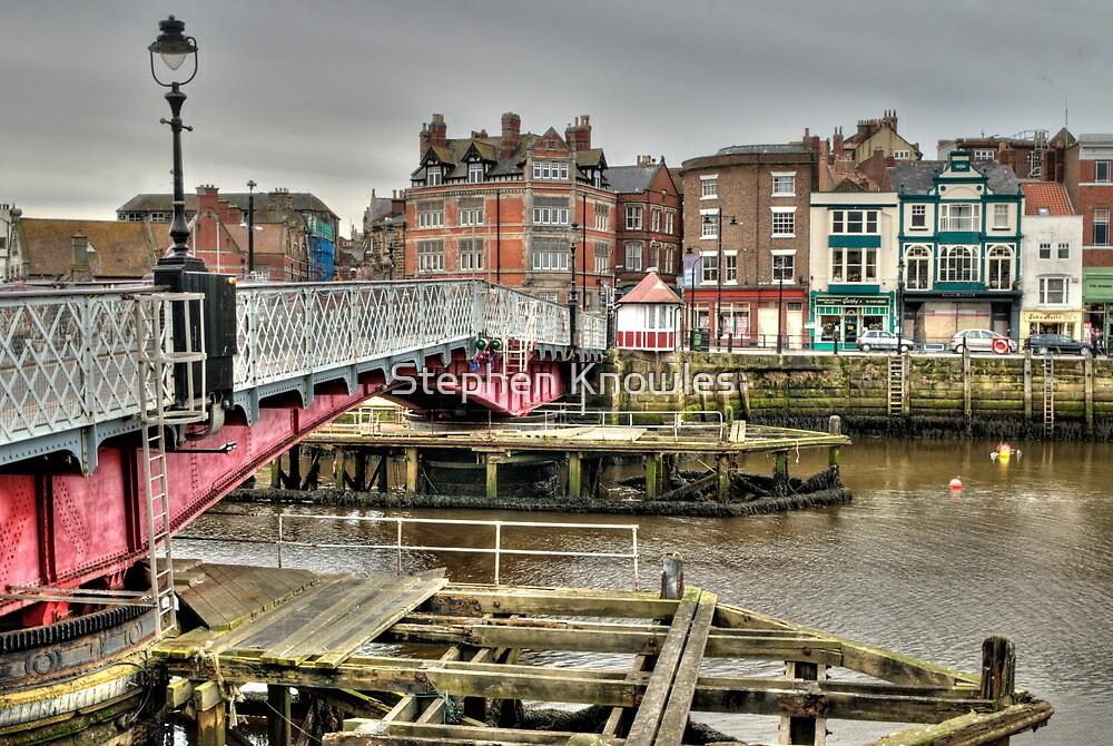 Whitby swing bridge by Stephen Knowles
