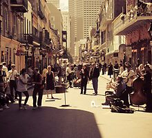 A New Orleans Scene by MatMartin