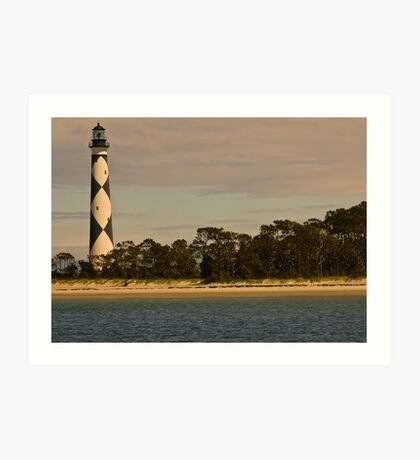 Cape Lookout Lighthouse, North Carolina, USA Art Print