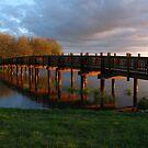 Park Bridge Sunset by bicyclegirl