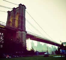 Brooklyn Bridge from Brooklyn Bridge Park by yiuphotography
