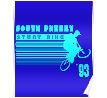 South Philly Stunt Bike Poster